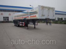 Shengrun SKW9401GGY high pressure gas long cylinders transport trailer