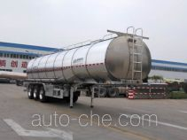 Aluminium liquid food tank trailer