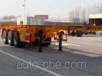 Shengrun SKW9402TWY dangerous goods tank container skeletal trailer