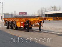 Shengrun SKW9403TWY dangerous goods tank container skeletal trailer