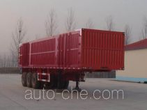 Shengrun SKW9403XXY box body van trailer