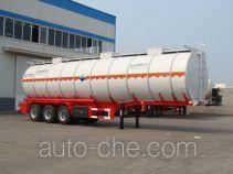 盛润牌SKW9404GFWT型腐蚀性物品罐式运输半挂车