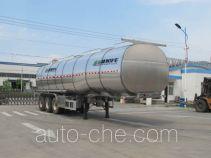 Shengrun SKW9406GYSL aluminium liquid food tank trailer