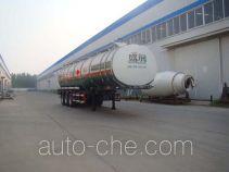 Shengrun SKW9406GYYA aluminium oil tank trailer
