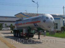 盛润牌SKW9408GRY型易燃液体罐式运输半挂车