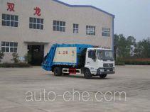 龙帝牌SLA5122ZYSDFL6型压缩式垃圾车