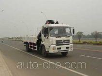 龙帝牌SLA5160JSQ型随车起重运输车