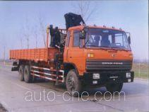 龙帝牌SLA5201JSQ3型随车起重运输车