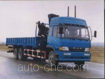龙帝牌SLA5210JSQ3型随车起重运输车