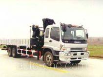龙帝牌SLA5220JSQ型随车起重运输车