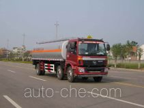 Longdi SLA5250GRYB8 flammable liquid tank truck