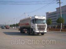 龙帝牌SLA5311GFLSQ8型低密度粉粒物料运输车