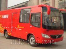 Shaolin SLG5081XXYC3E box van truck