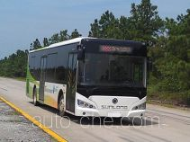申龙牌SLK6109USCHEV01型混合动力城市客车