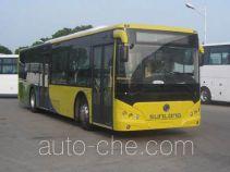申龙牌SLK6129ULD5HEVZ2型混合动力城市客车