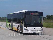 申龙牌SLK6119USNHEV01型混合动力城市客车