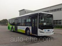 申龙牌SLK6119USNHEV03型混合动力城市客车