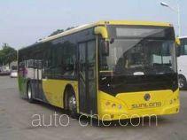 申龙牌SLK6129ULD5HEVE型混合动力城市客车