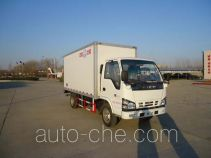 Yinguang SLP5041XBWS insulated box van truck