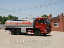 醒狮牌SLS5250GHYD3型化工液体运输车