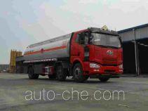 醒狮牌SLS5250GRYC4型铝合金易燃液体罐式运输车