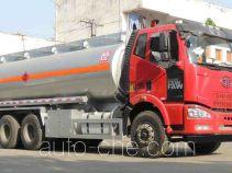 醒狮牌SLS5250GRYC5型易燃液体罐式运输车