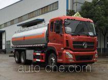 醒狮牌SLS5250GRYD5型易燃液体罐式运输车