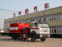 醒狮牌SLS5250TQLN4型热油(水)清蜡车