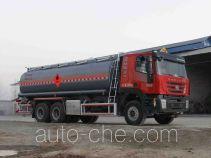 醒狮牌SLS5251GRYH4型易燃液体罐式运输车