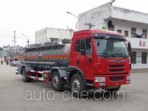 醒狮牌SLS5253GFWC5V型腐蚀性物品罐式运输车