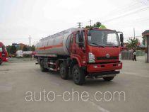 醒狮牌SLS5253GRYE5型易燃液体罐式运输车