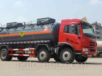 Oxygenated tank truck