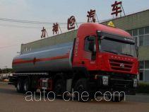 醒狮牌SLS5310GRYH4A型易燃液体罐式运输车