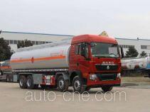 醒狮牌SLS5310GRYZ型铝合金易燃液体罐式运输车