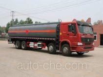 醒狮牌SLS5310GRYZ5型铝合金易燃液体罐式运输车