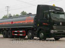 醒狮牌SLS5311GHYA7型化工液体运输车