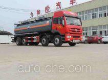 醒狮牌SLS5315GFWCT4型腐蚀性物品罐式运输车