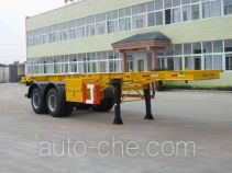 醒狮牌SLS9280TJZ型集装箱运输半挂车