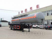醒狮牌SLS9290GHY型化工液体运输半挂车
