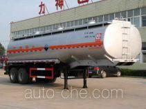 醒狮牌SLS9340GFW型腐蚀性物品罐式运输半挂车