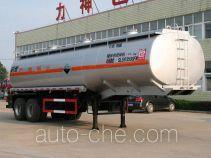 醒狮牌SLS9350GFW型腐蚀性物品罐式运输半挂车