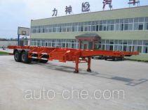 醒狮牌SLS9350TJZ型集装箱运输半挂车