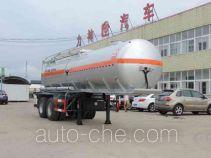 醒狮牌SLS9351GFW型腐蚀性物品罐式运输半挂车