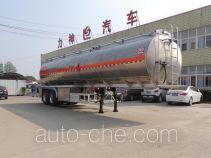Xingshi SLS9351GYY aluminium oil tank trailer