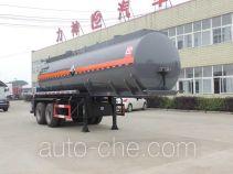 醒狮牌SLS9352GFW型腐蚀性物品罐式运输半挂车