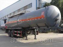 醒狮牌SLS9353GFW型腐蚀性物品罐式运输半挂车