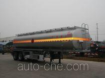 醒狮牌SLS9353GRY型铝合金易燃液体罐式运输半挂车