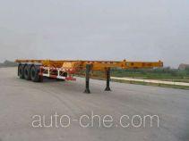 醒狮牌SLS9381TJZ型集装箱运输半挂车