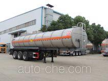 醒狮牌SLS9400GYW型氧化性物品罐式运输半挂车