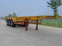 醒狮牌SLS9400TJZ型集装箱运输半挂车
